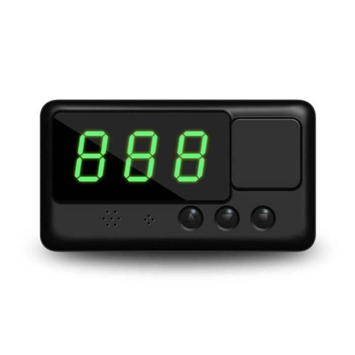 Compteur de vitesse universel pour GPS HUD Head Up MPH - KM - h Avertissement de survitesse pour Plug & Play la34173