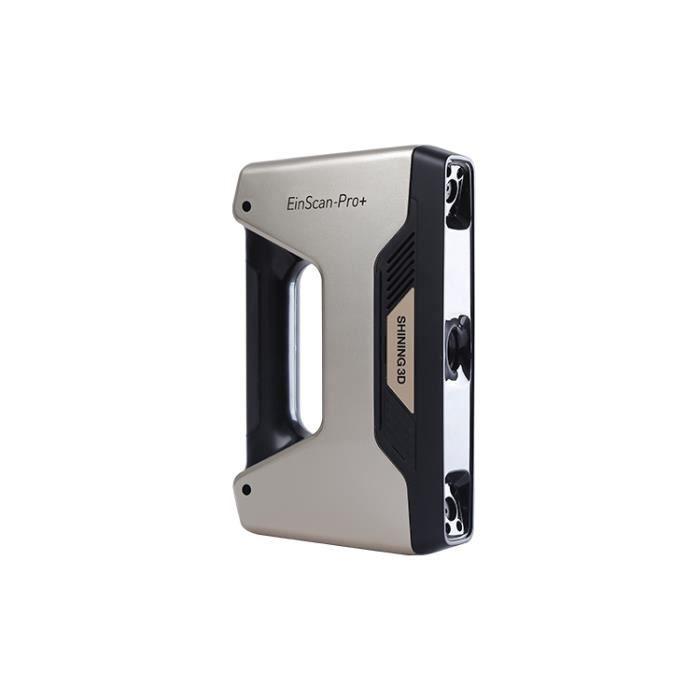 SHINING 3D EinScan-Pro+, Scanner portable, Mode portrait 3D, Mode Objet, 0,05 mm, obj,ply,stl, 360°, 360°