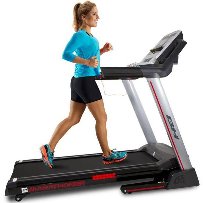 Tapis de course - 21 km-h - 8 ans de garantie BH Fitness Marathoner G6458RF