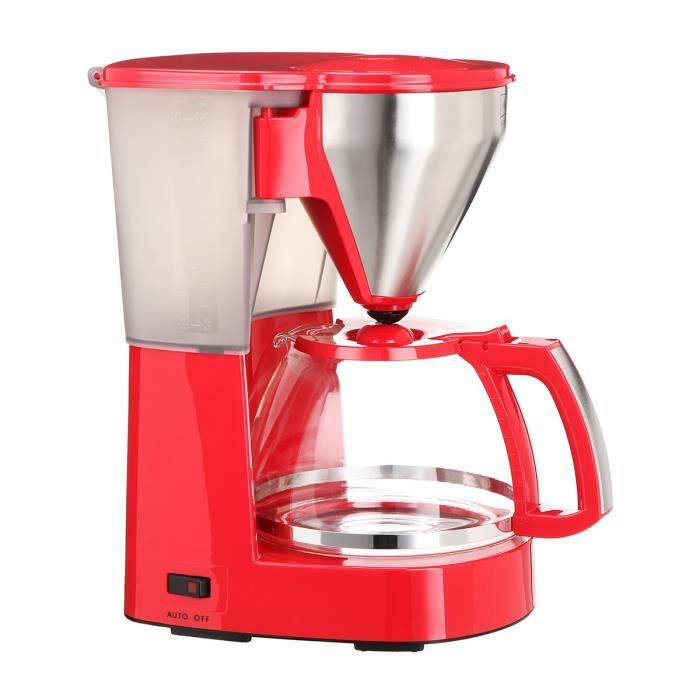 MELITTA Cafetière Easy top - Rouge