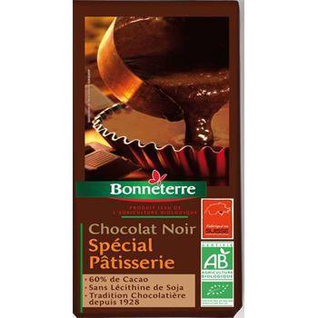 Bonneterre Chocolat noir patisserie 60% cacao 200g