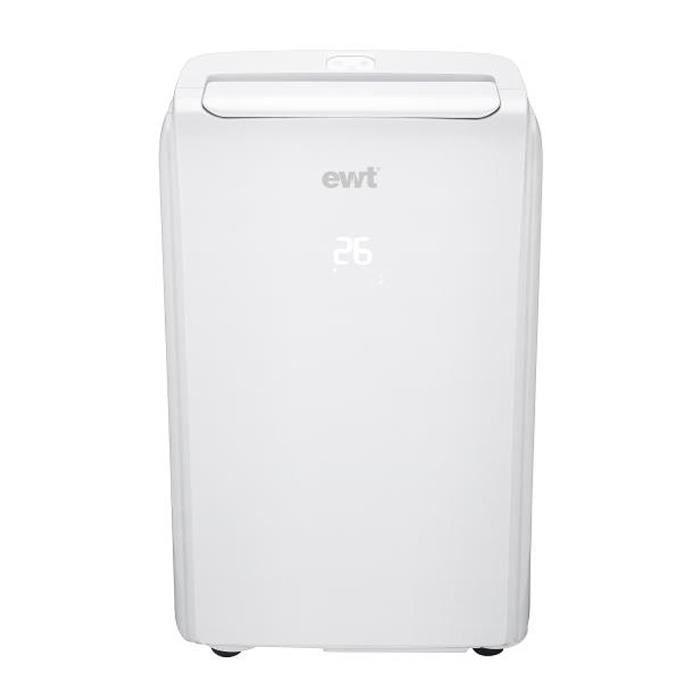 ewt - climatiseur mobile monobloc 2600w 25m2 - snowair9c