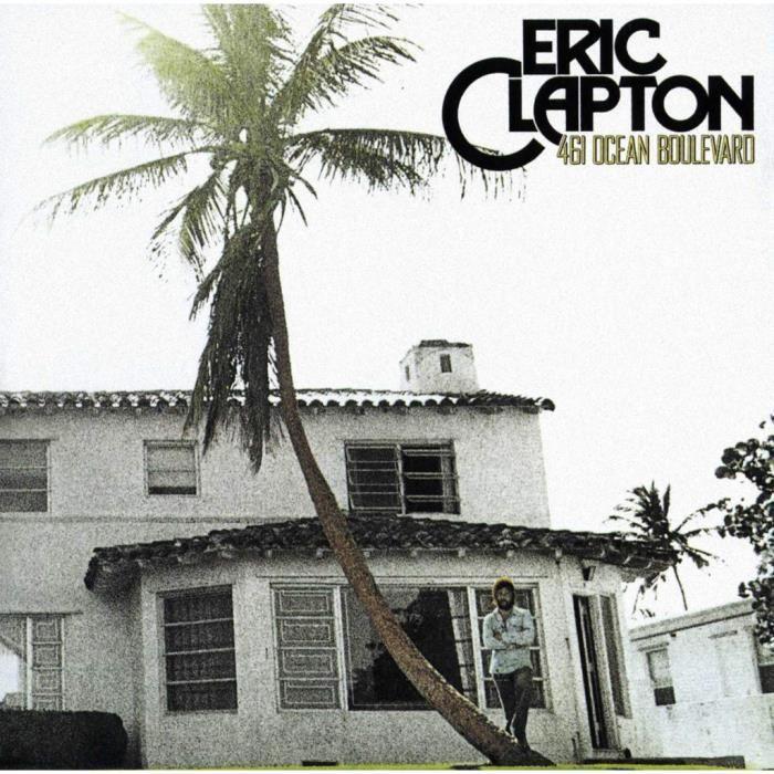 Poster Affiche Eric Clapton Album Cover 461 Ocean Boulevard Guitare Hero 42cm x 42cm