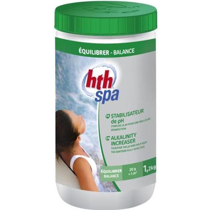 Stabilisateur de pH 1,2kg pour spa HTH