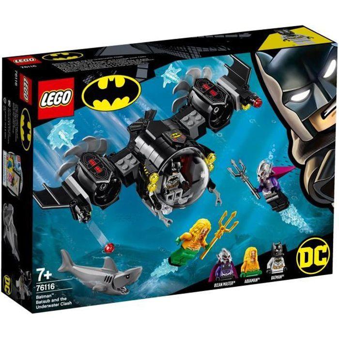 Lego 76116 Le Bat-Sous-Marin de Batman et Le Combat Sous L'Eau - Jeu de construction
