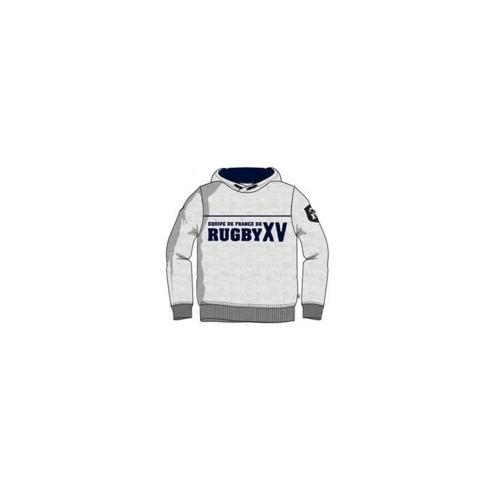 Sweat rugby XV de France enfant - FFR XV -- Taille 4 ans
