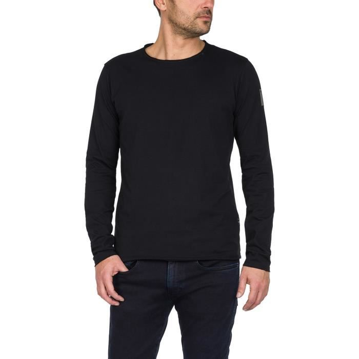 Replay T-Shirt Manches Longues Noir Homme M3592.000.2660-098