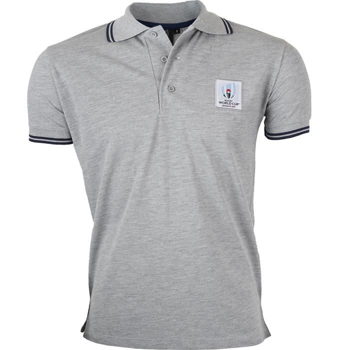 Polo COUPE DU MONDE DE RUGBY 2019 - Collection officielle Rugby World Cup