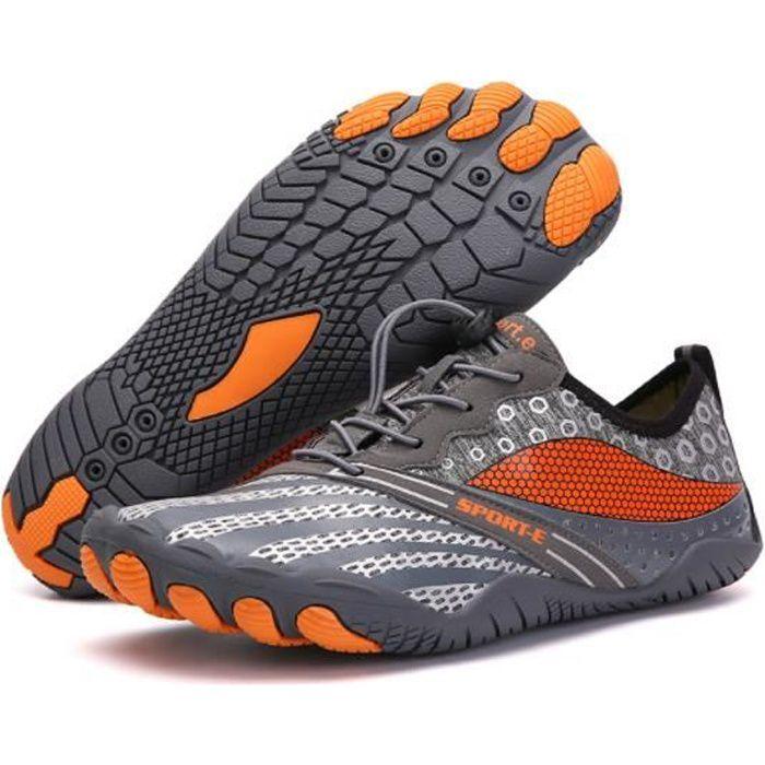 Chaussures de Trail Running Chaussures de Sport Gym Fitness Randonnée Escalade Marche Barefoot Shoes Chaussures Aquatiques EU36-47