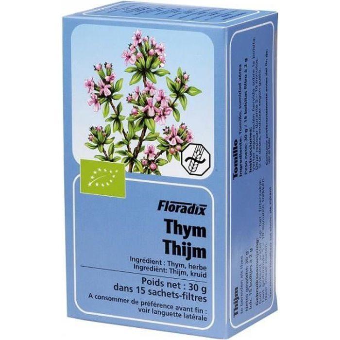 Tisane Thym Bio - 15 sachets