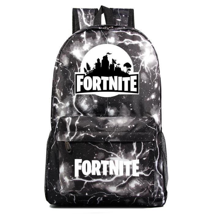 MOBIGARLAN Sac à Dos - Sac d'École dos Scolaire Fortnite imprimé étudiant Backpack pour enfant adolescent modèle 71