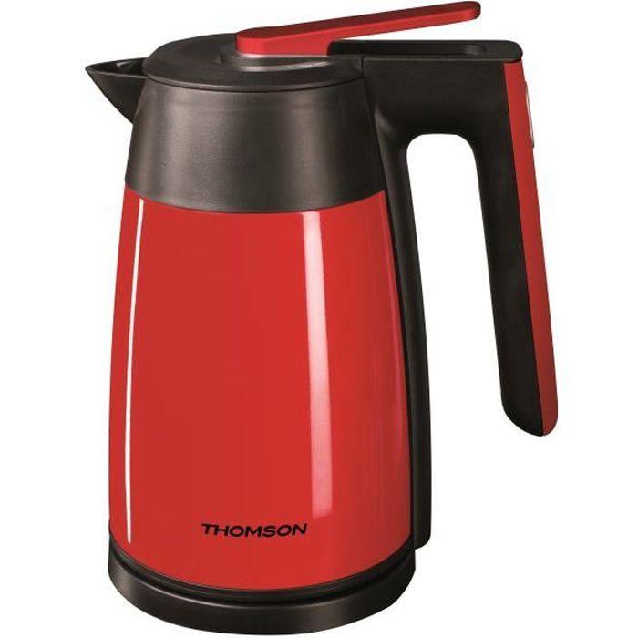 THOMSON THKE09116R Bouilloire électrique isotherme - Rouge