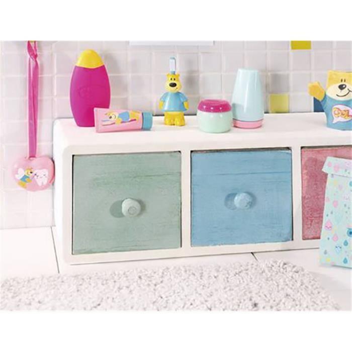Zapf Creation 827116 Set de bain et de toilette pour BABY born