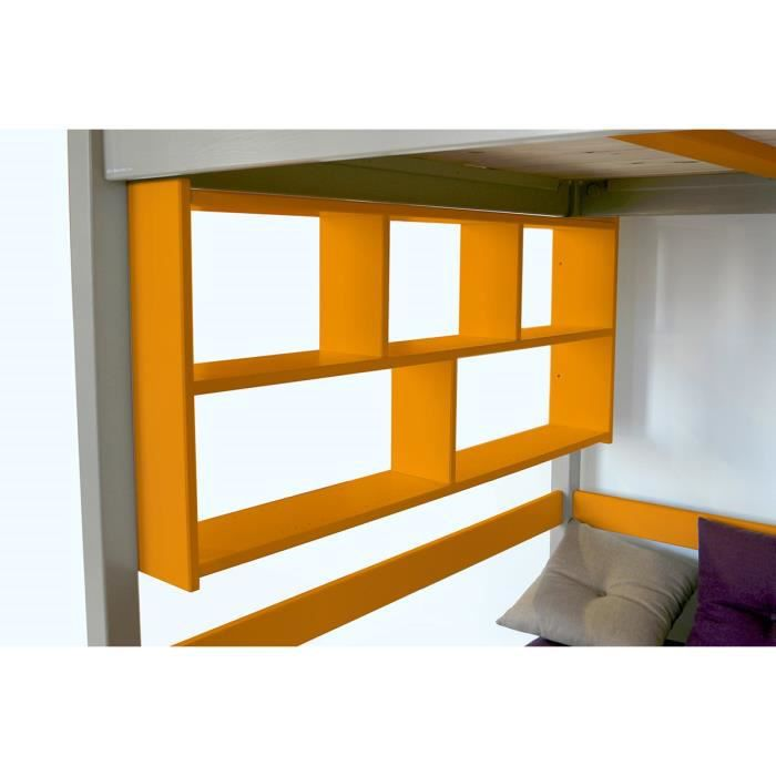 Tag re murale orange largeur 160 achat vente etag re murale tag re - Etagere murale cdiscount ...