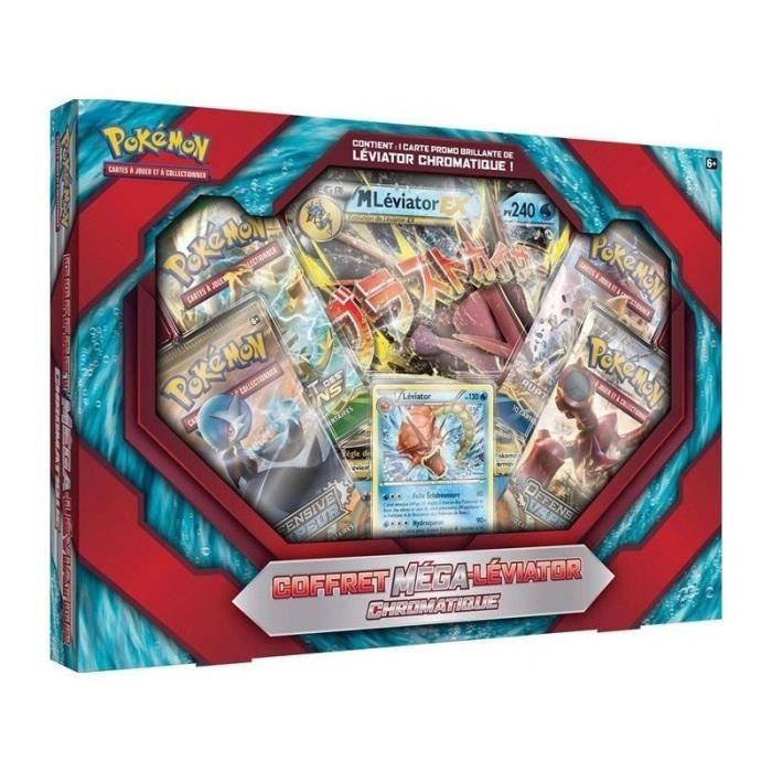 Méga-Léviator Chromatique Jeux de Cartes Pokémon Coffret