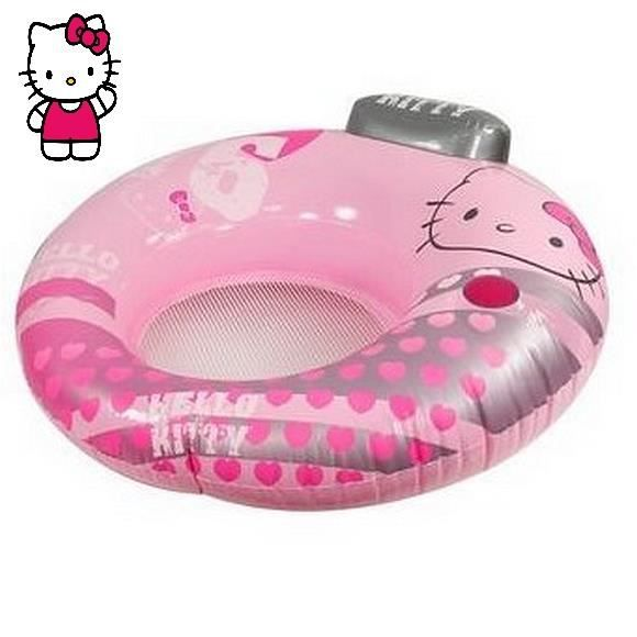 fauteuil avec repose tete de plage mer piscine hello kitty 104 cm achat vente bou e. Black Bedroom Furniture Sets. Home Design Ideas