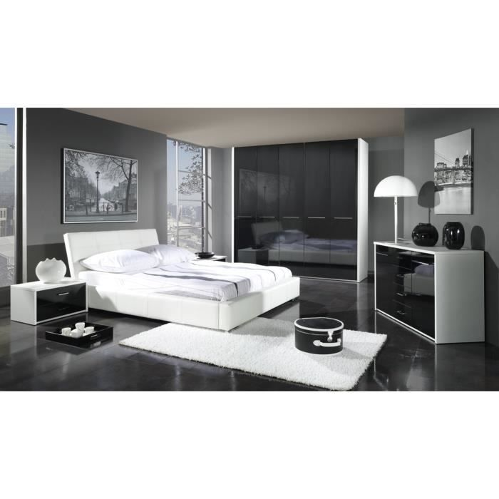 chambre complete luxe design achat vente lit complet chambre complete luxe desig cdiscount. Black Bedroom Furniture Sets. Home Design Ideas