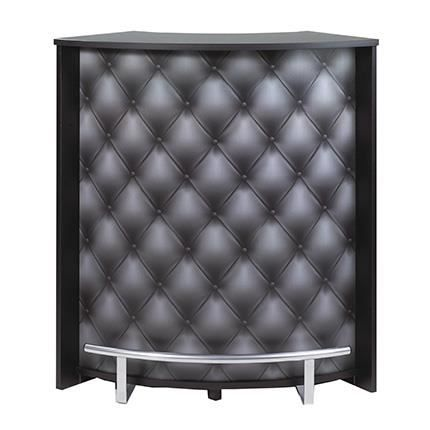 Meuble bar maxi noir impression d co l 96 7 x achat for Meuble bar noir