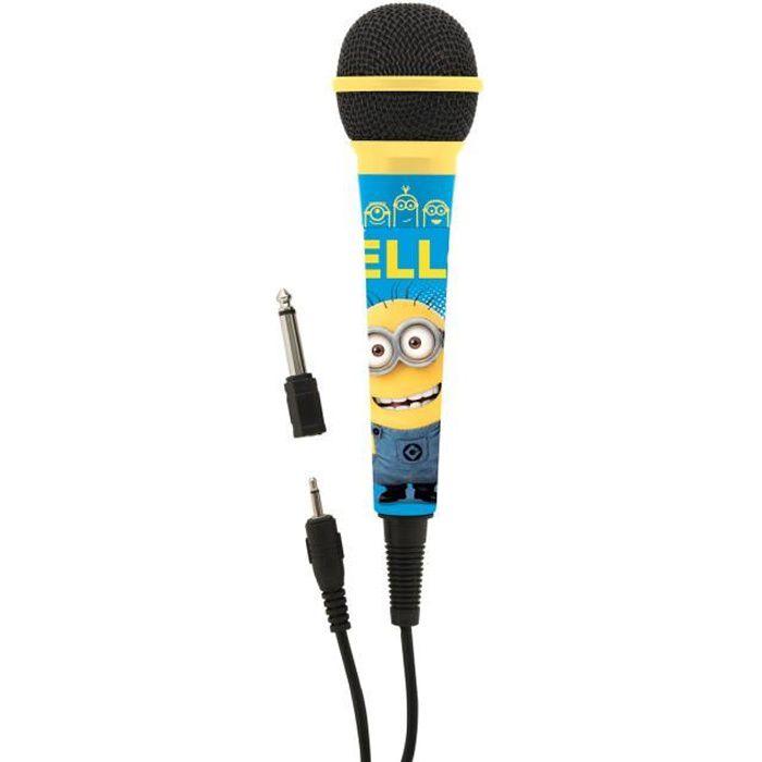 Rose 89 cm Bontempi Microphone de sc/ène avec Son Blanc
