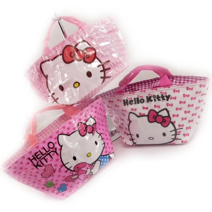 Sac Hello Achat Kitty Sacs Shopping Vente Rose 3 qCU0fEwx