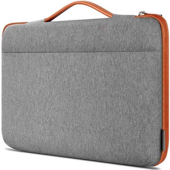 Inateck Housse 13-13,3 Pouces Compatible avec MacBook Pro et MacBook Air 13 2012-2018 //Microsoft 12,3 Surface Pro 6 //Surface Pro 2017//4//3//13 Pouces Serviettes Sacoche Ordinateur Portable
