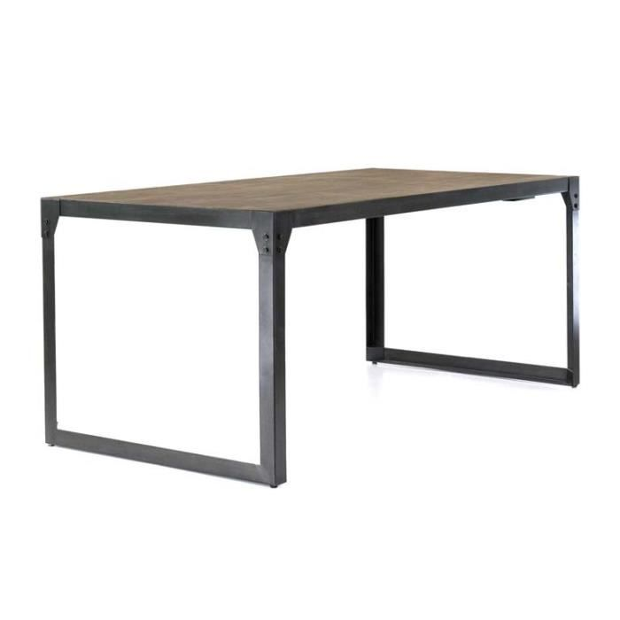 Table tr teau 180 cm allonge 50 cm factory inwood achat - Table avec treteau ...