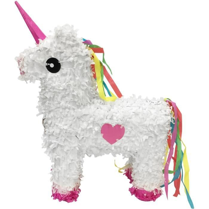DÉGUISEMENT - PANOPLIE MGM Pinata licorne blanche