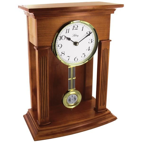 pendule horloge quartz a poser achat vente horloge cdiscount. Black Bedroom Furniture Sets. Home Design Ideas