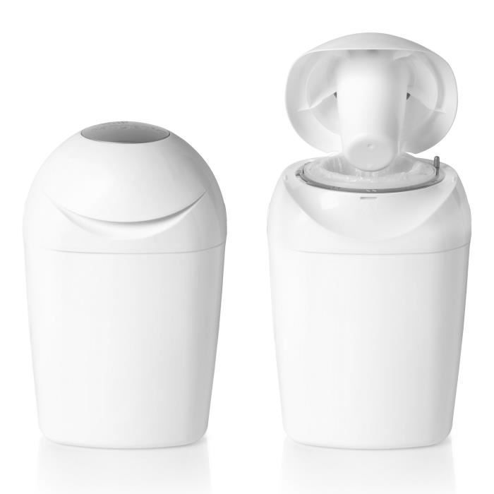 Tommee Tippee Poubelle A Couches Sangenic Tec Blanche Achat