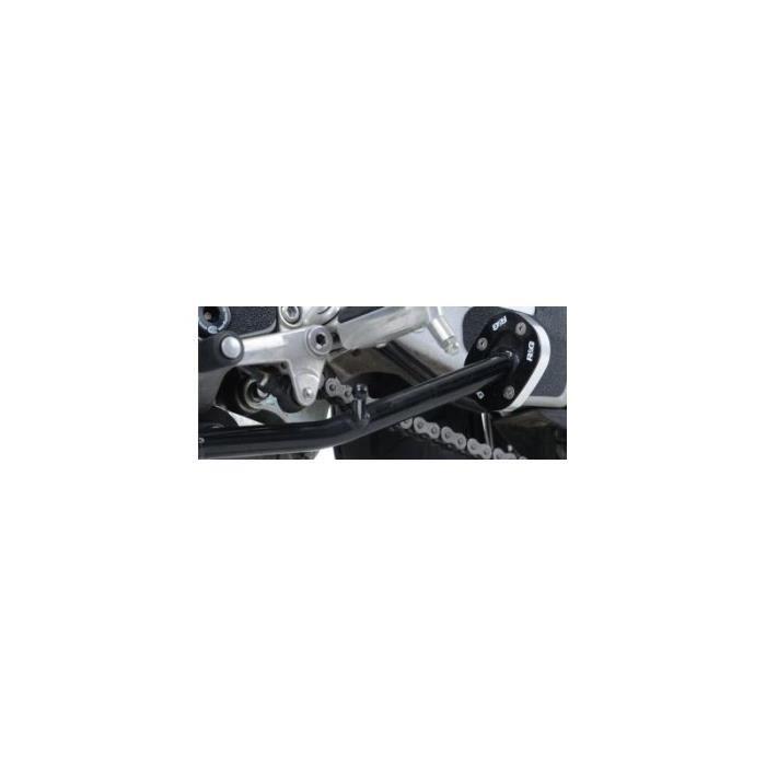 Couleur : Gris Delaman Tapis dextension de b/équille de Support lat/éral antid/érapant pour Moto Agrandir pour Honda NC750X 17-18