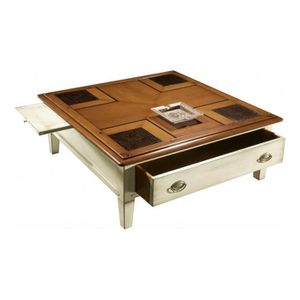 Table carree laquee achat vente table carree laquee for Table basse carree blanc laquee