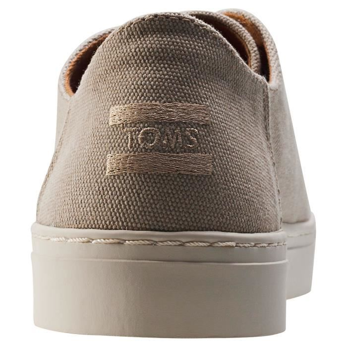 Toms Lenox Washed Hommes Baskets Taupe - 9 UK