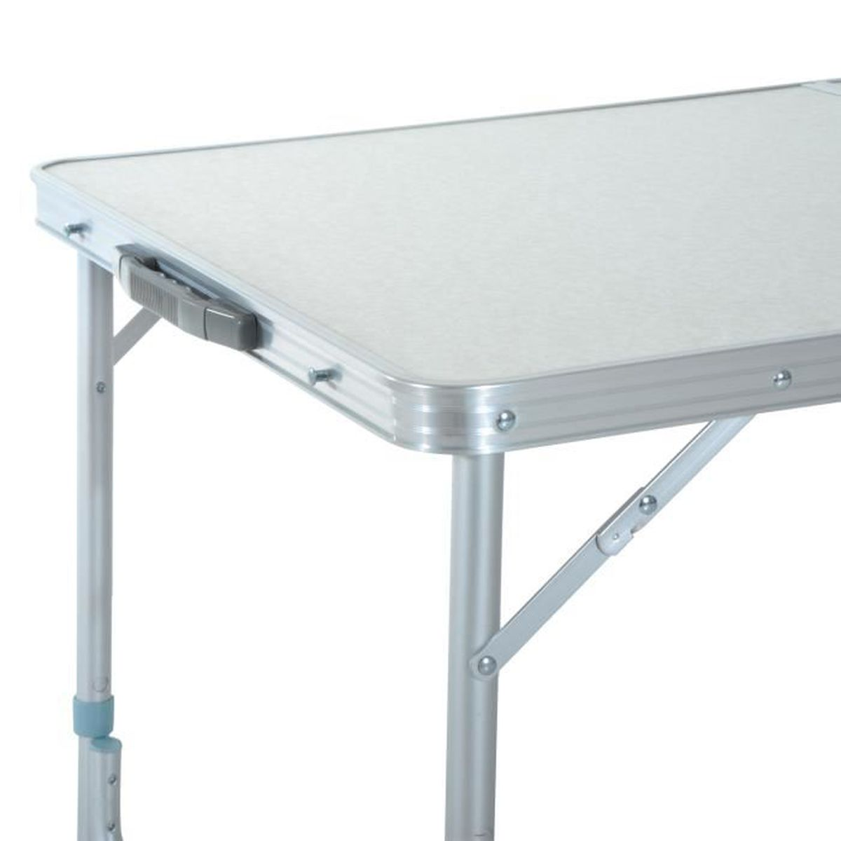 Table de camping pliante portable 120l x 60l x 70 h cm et for Soldes table de jardin