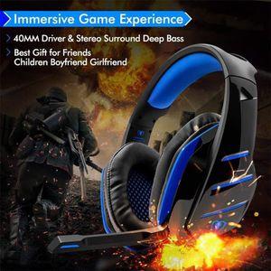 CASQUE AVEC MICROPHONE Beexcellent GM-3 Wired Shocking basse Gaming casqu