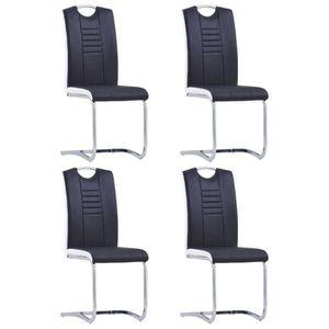CHAISE Chaises de salle à manger 4 pcs 42 x 52 x 100 cm N
