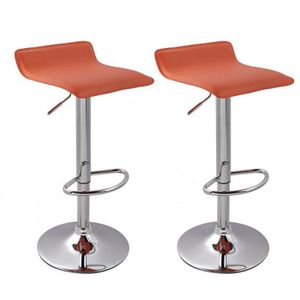 tabouret de bar orange achat vente tabouret de bar. Black Bedroom Furniture Sets. Home Design Ideas