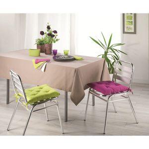SERVIETTE DE TABLE Lot de 3 serviettes VITAMINE BLEU