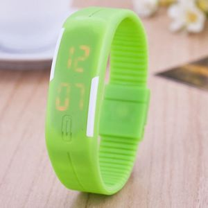 MONTRE (#140) 10ATM Waterproof Fashion Curved Surface LED