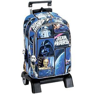 CARTABLE Sac à dos à roulettes Star Wars Space 43 CM trolle