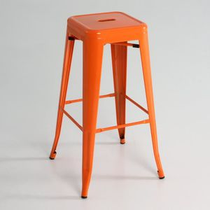 tabouret haut orange achat vente tabouret haut orange pas cher cdiscount. Black Bedroom Furniture Sets. Home Design Ideas