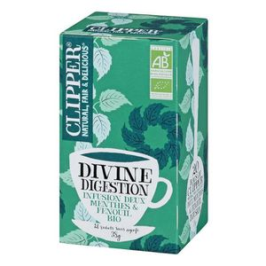 INFUSION CLIPPER Infusion Divine Digestion Bio 38g
