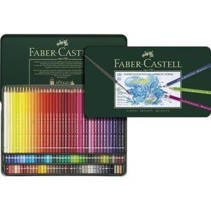 CRAYON DE COULEUR FABER-CASTELL Boîte de 120 Crayons de couleur A Dü
