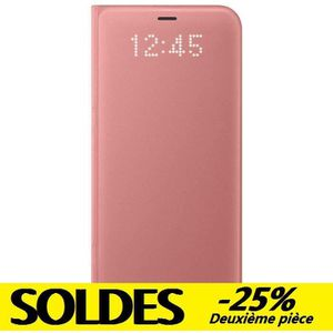 HOUSSE - ÉTUI Samsung LED View Cover S8 - Rose