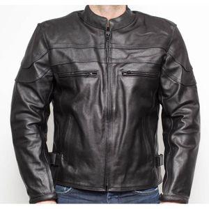 EU 52-54 JET Blouson Veste Moto Homme /à Capuche Soft Shell blind/é Gris, XL