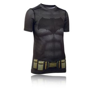 MAILLOT DE RUNNING Under Armour Batman Running T-Shirt Manche Courte 8252e5ce20e5