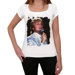 TSHIRT - POLO Claude Francois Tshirt, Femme Tshirt Blanc ONE IN