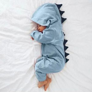 Ensemble de vêtements Nouveau-né Infantile Bébé Garçon Fille Dinosaure À