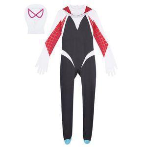 DÉGUISEMENT - PANOPLIE 2 Pcs Femme Déguisement Spiderman Body Capuche Com