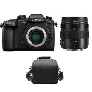 APPAREIL PHOTO COMPACT PANASONIC DMC-GH5 Black + 12-35mm F2.8 II ASPH O.I