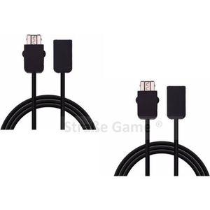 ADAPTATEUR MANETTE 2 x Câble d'extension rallonge pour manette Ninten